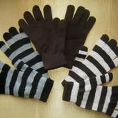 Вязанные перчатки Tchibo, Германия - отличный аксессуар к Вашему образу