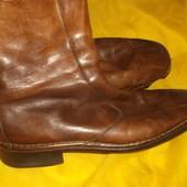 теплые кожаные сапоги на овчине Sionx 45-46