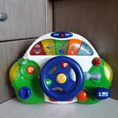Музыкальный руль, водитель Chicco