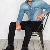 Стильные мужские прямые джинсы Cortefiel, 34, 36р, высокий рост, Испания