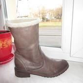 Кожаные итальянские ботинки L'idea 36 р
