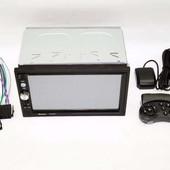 2din автомагнитола pioneer pi-7023 gps + камера + карта памяти 4 гб + пульт на руль + шахта и рамка!