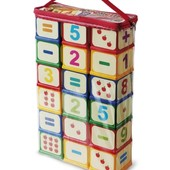 Большие кубики  арифметика, цифры Юніка