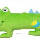 Подушка Крокодил Позитивчик