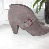 Замшевые деми ботинки Geox 38 р