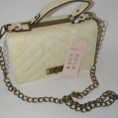 3-152 Сумка Chanel каркасная кожа икра / Женская сумка