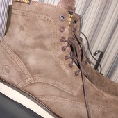 Ботинки мужские RAW натуральная замша р.45 31 см