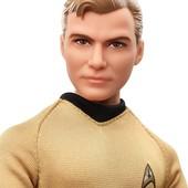 коллекционная кукла Barbie Star Trek 50th Anniversary kirk капитан кирк стар трек звёздный путь