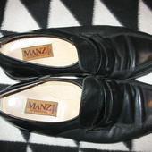 Туфли мужские,кожаные,р.42(9,5),(стелька-28,5см).Нюанс.