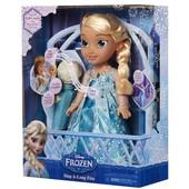 """Кукла Disney Frozen Эльза """"34""""см с микрофоном 96377, языки русский, украинский"""