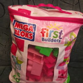 Кубики Mega Bloks для девочек 70 шт.