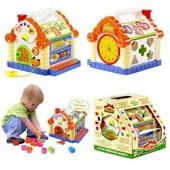Игрушка сортер 9196 Теремок для малышей