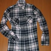 байковая рубашка-туника размер 38