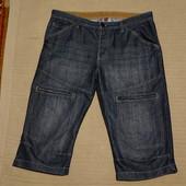 Отличные удлиненные джинсовые синие шорты Denim Co  Primark. Англия 34