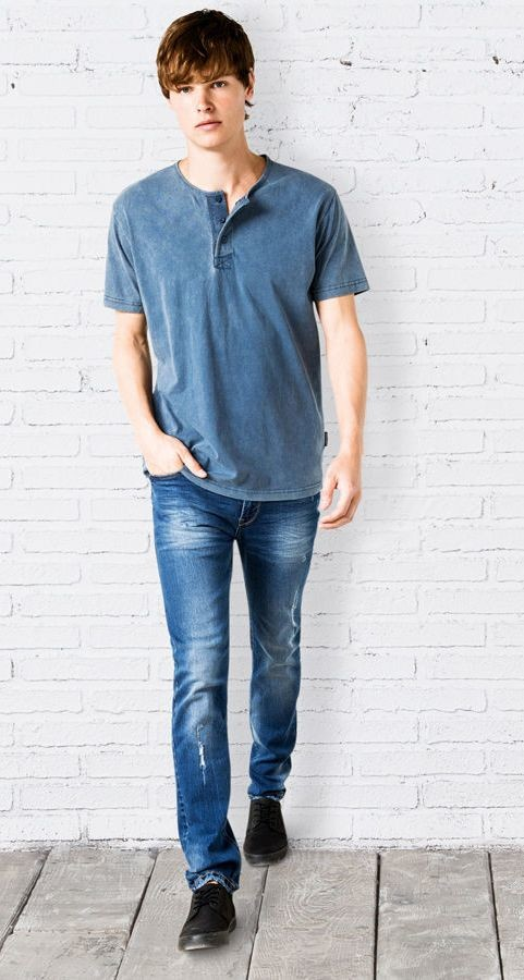 Стильные мужские джинсы Springfield, 36, 38р, высокий рост, Испания фото №1