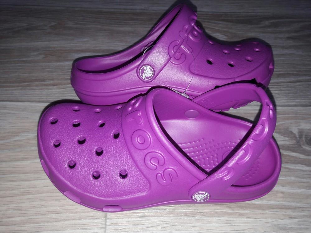 Яркие hilo clog от crocs оригинал р 10 фото №1