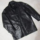 Демисезонная куртка из натуральной кожи в отличном состоянии. Качество