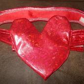 """Пояс """"Сердце"""" для маскарадного костюма"""