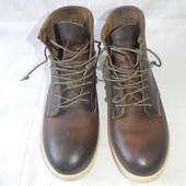 Мужские кожаные ботинки preventii р.41 дл.ст 27,5см