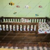 Детская односпальная кровать Жасмин