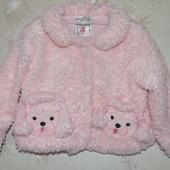 Деми пальто шубка Fuzzy Wear, 18-24мес