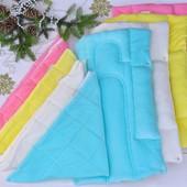 Детский плед + матрасик для новорожденных гнездышко (цвета в ассортименте)