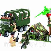 Конструктор Brick 811 Военный Грузовик