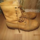 (№і329)фирменные кожаные ботинки ст 29 Timberland