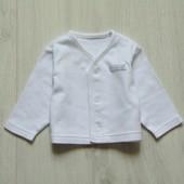 Нежная кофточка для маленького модника. M&S. Размер 0-1 месяц. Состояние: идеальное