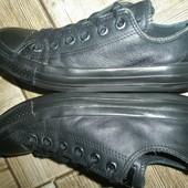 кожаные  кеды Converse оригинал стелька 23,5 см \37 размер