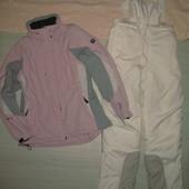 Бронь! Лыжная куртка + зимний полукомбез. размер 48 наш. Одним лотом.
