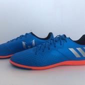 Подростковые футбольные бампы adidas Messi 16. 3 размер 38