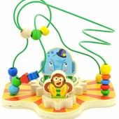 Сортер-лабиринт «Цирк», Мир деревянных игрушек Д381