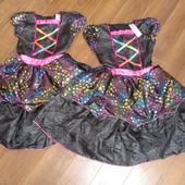 Фирменное нарядное платье на 7-8 лет