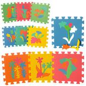 Напольный коврик - пазл мозаика 0386