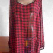 Шифоновая блузка в идеальном состоянии Батал