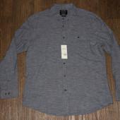 Рубашка мужская новая с бирками Burton размер XL приталеная состояние новая