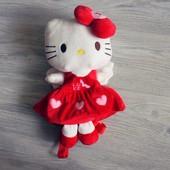 Рюкзак-игрушка Hello Kitty 3 цвета красный розовый фиолетовый