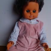Винтажная кукла гдр 55см