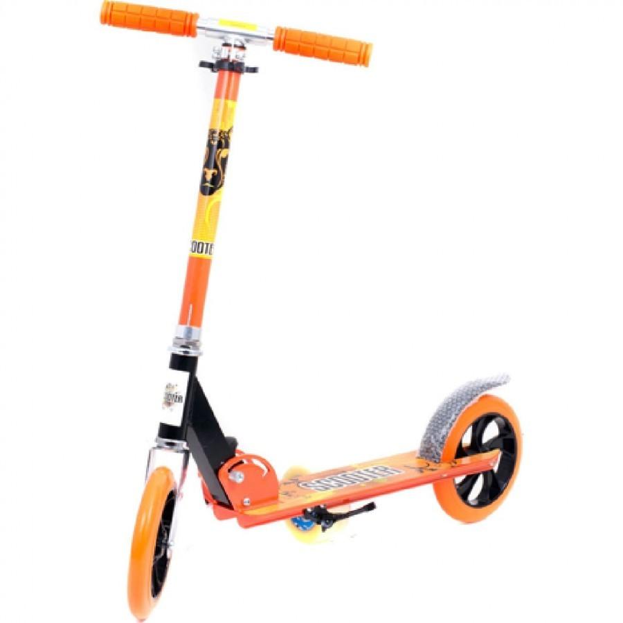 Хит продаж! Самокат Scooter Sport 109 А, скутер двухколесный. Киев от 5 лет. фото №4
