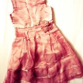 Нарядное платье 8 лет рост 128см    (шир.33, длина 80)