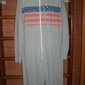 Пижама хлопковая, мужская, размер ХL, рост до 190 см