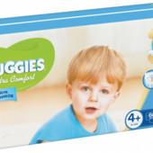 Срочно!!!Подгузники Huggies Ultra Comfort 4+ Mega для мальчиков 60 шт.