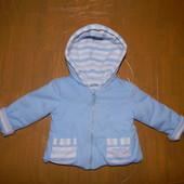 р. 62-74, Tutto Piccolo, Италия, мягенькая и теплая демисезонная куртка