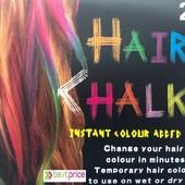 Цветные мелки для волос Hair Chalk набор 24шт