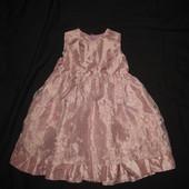 1,5-3 года, нарядное платье из шифона и органзы