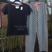 Женская трикотажная пижама ( S,М) Primark