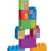mega bloks Первые строители изучаем цыфры First Builders 8849