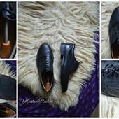 Новые кожаные мужские туфли-броги, р-р 44