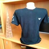 Мужская футболка в обтяжку, фирменная, м